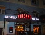Вывеска винного бара Vinsanto
